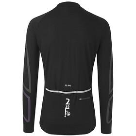Fe226 DryRide Bike Maglietta A Maniche Lunghe Uomo, black